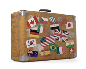 suitcase for china